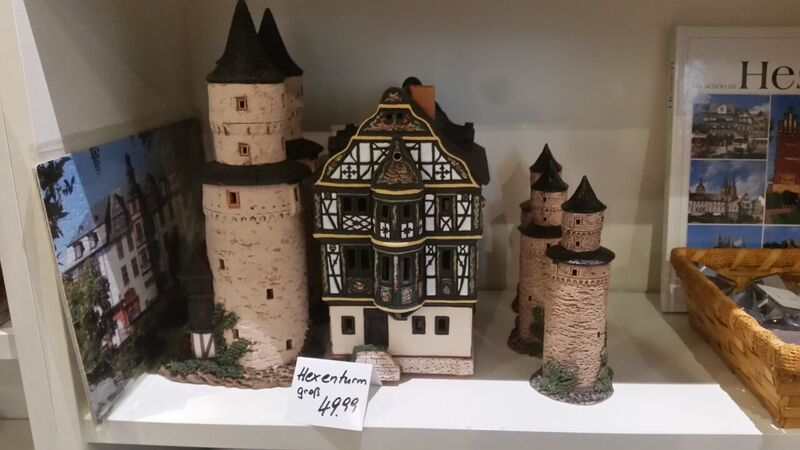 25 store Gemma Discover Idstein from the Witch Tower