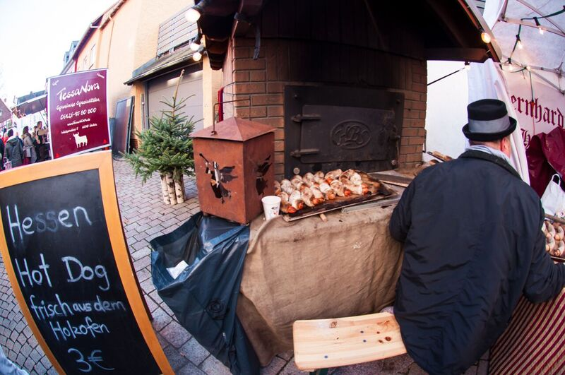 5 food Gemma Along the cobblestone streets of the Idstein Christmas Market