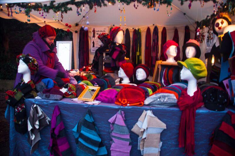 9 hats Gemma Eltville Christmas Market