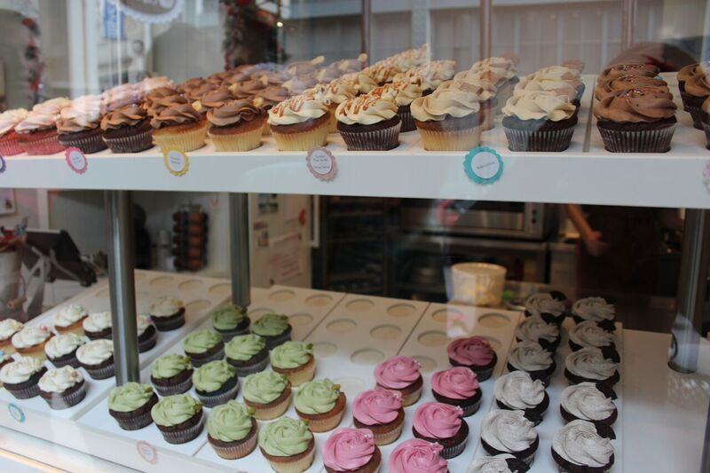 Bertie's cupcakery food Wendy Experience Paris - tips from a traveling artisan
