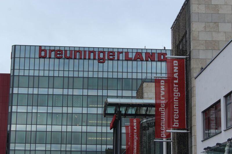 Breuningerland outside Wendy Malls of Stuttgart