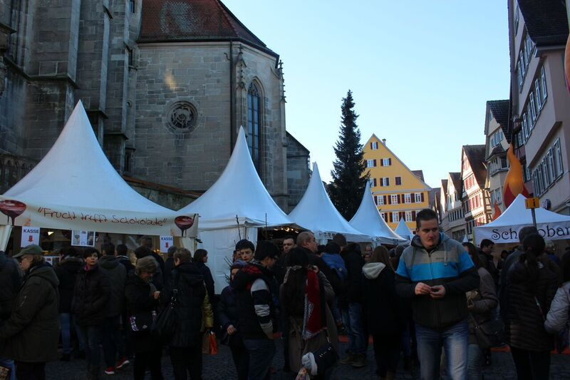 Fests tents 1 Wendy Tübingen - a town of all seasons