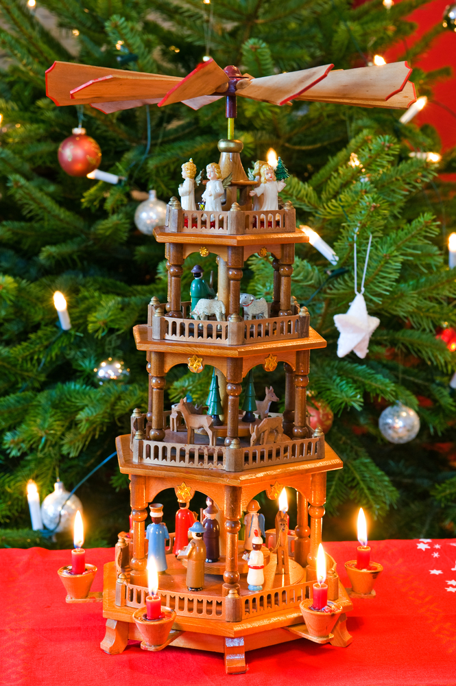 German Pyramid Firma V shutterstock Mainz Christmas Market