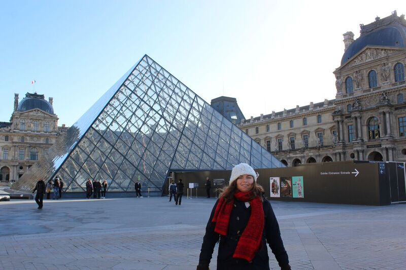 Katy and Louvre Wendy Experience Paris - tips from a traveling artisan