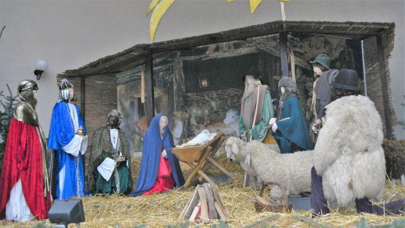 Nativity scene Kelly Bad Muenster Christmas Market