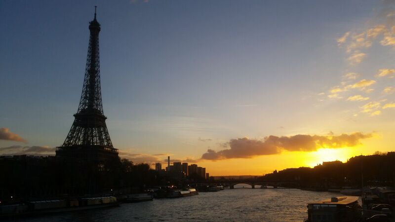 Paris Sunset Wendy Experience Paris - tips from a traveling artisan