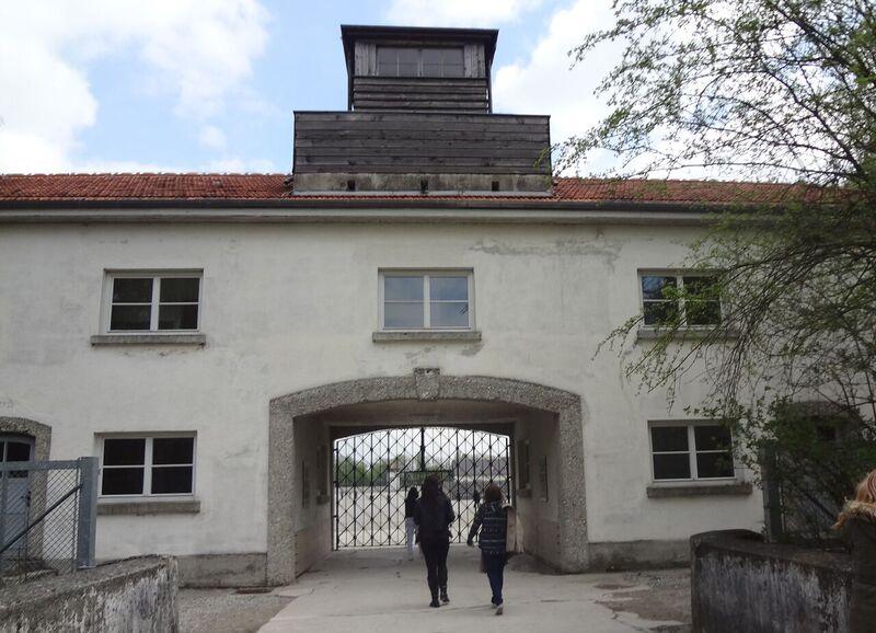 Photo 1 Cheryl Dachau Concentration Camp