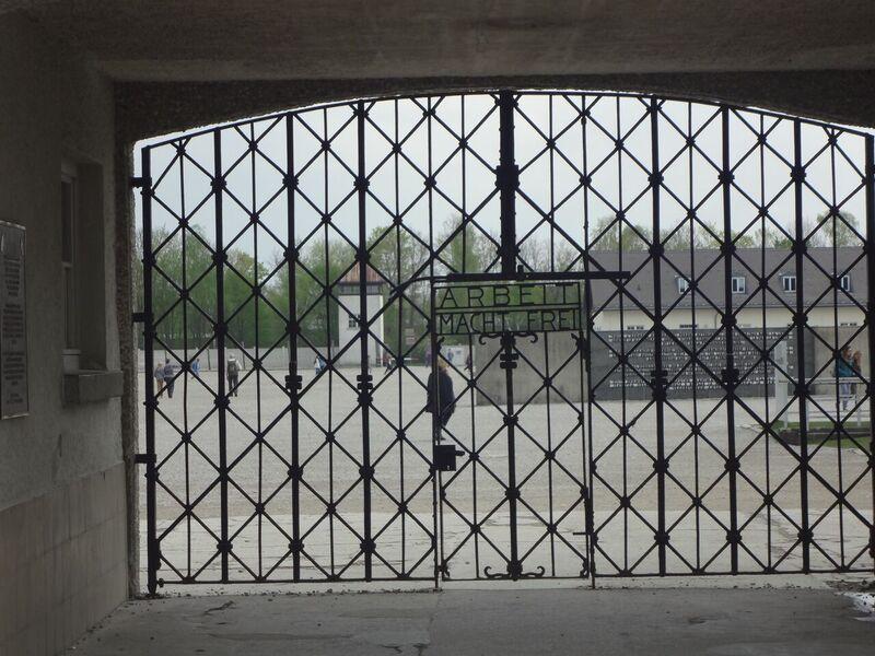 Photo 2 Cheryl Dachau Concentration Camp