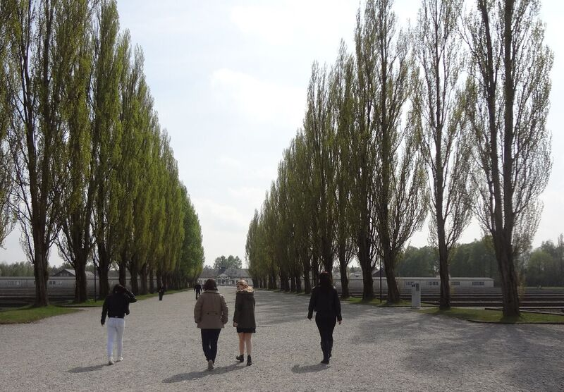 Photo 3 Cheryl Dachau Concentration Camp