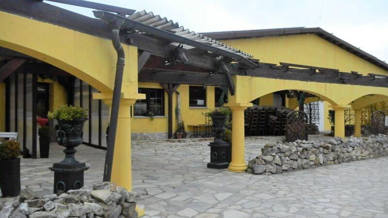 Restaurant exterior Kelly Der Pferdestall Stables and Saloon