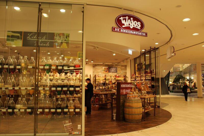 Schnapps store Wendy Malls of Stuttgart