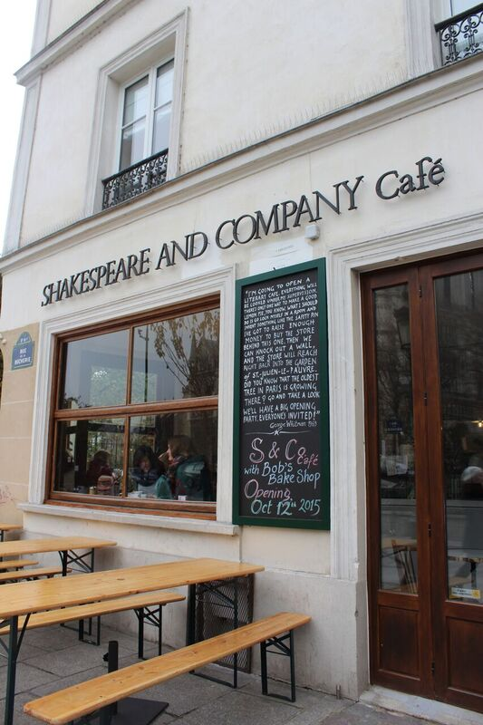 Shakespeare cafe Wendy Experience Paris - tips from a traveling artisan