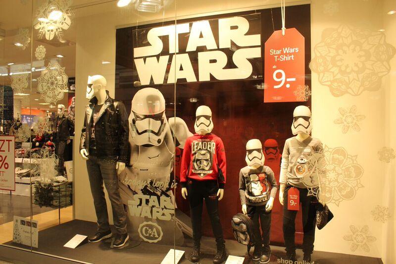 Star Wars Wendy Malls of Stuttgart