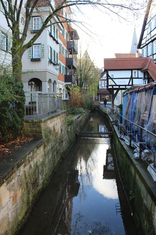 Water Bridge Wendy Tübingen - a town of all seasons