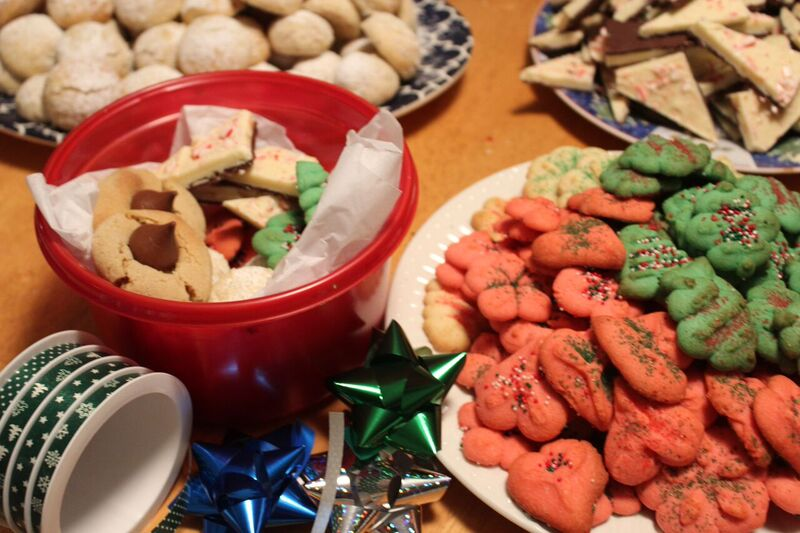 Wrapping food Wendy Holiday Cookie Creations
