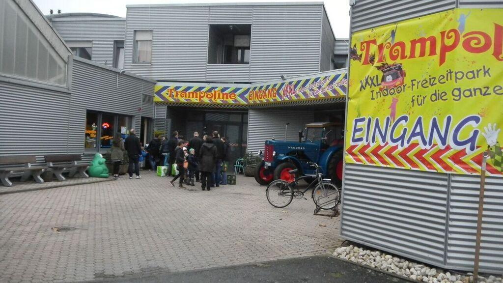 entrance Kelly Indoor Fun in Trier