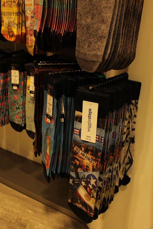 funky socks Wendy Malls of Stuttgart