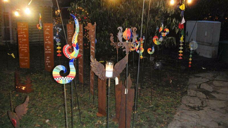garden decoration Kelly Bad Muenster Christmas Market