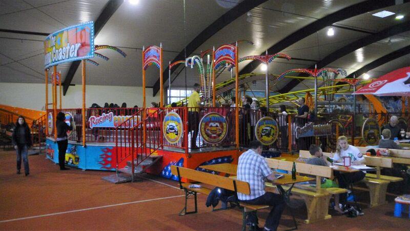 roller coaster Kelly Indoor Fun in Trier