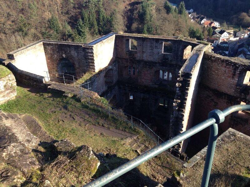 Castle ruins Kelly The OTHER Frankenstein Castle (Frankenstein, Rhineland-Palatinate)
