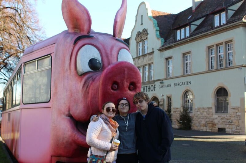 Pig Museum family Wendy Where Pigs Fly!