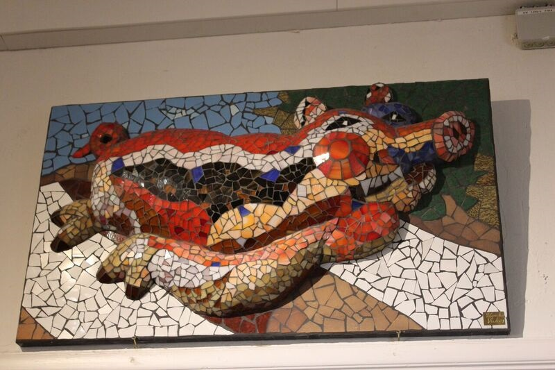 Tiled pig Wendy Where Pigs Fly!
