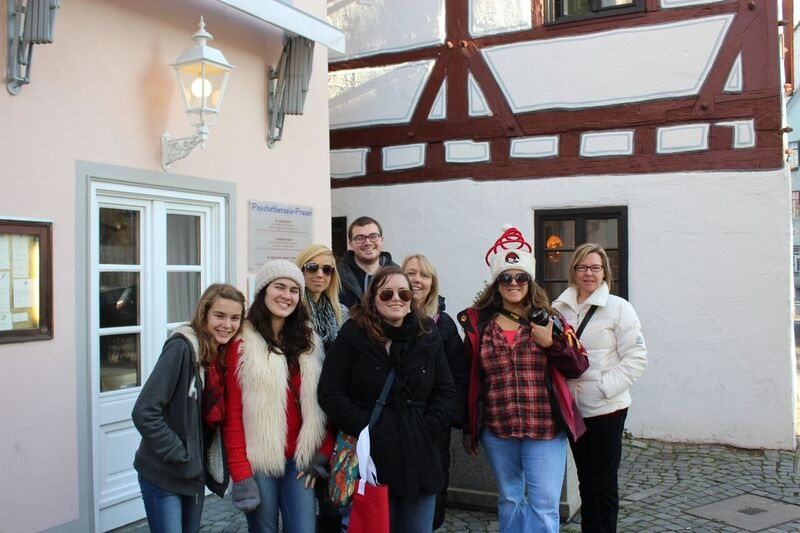 Traveling group Wendy The cathedral and city of Ulm