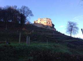 castle from a distance Kelly The OTHER Frankenstein Castle (Frankenstein, Rhineland-Palatinate)