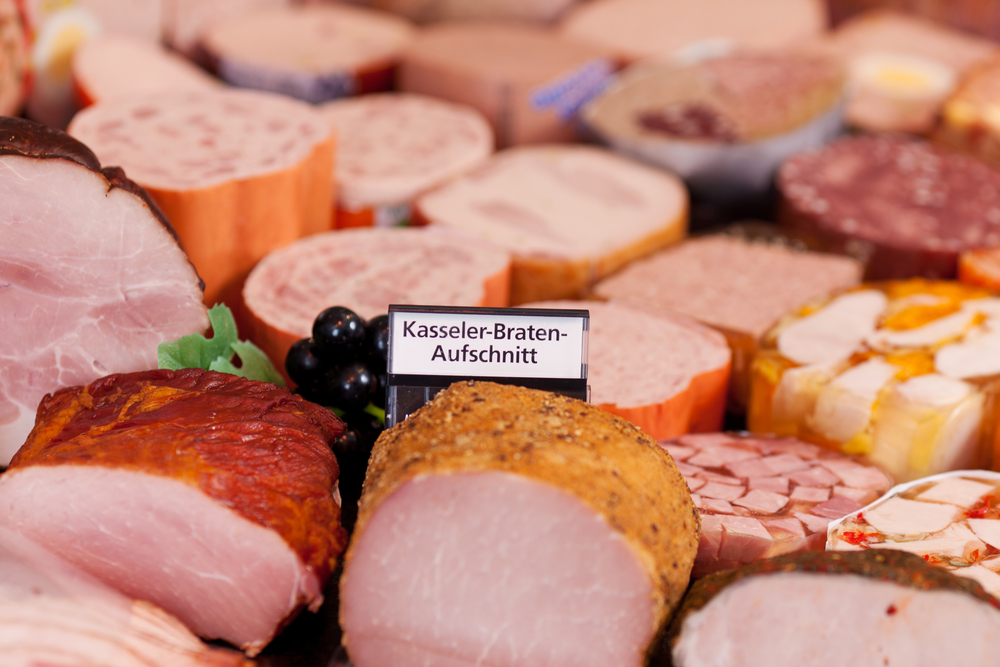 racorn shutterstock 7 food New Year's Resolutions for Experiencing Germany sausage