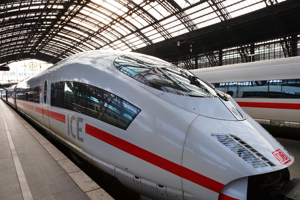 shutterstock editoral Nickolay Vinokurov ICE train 7 New Year's Resolution Experiencing Europe