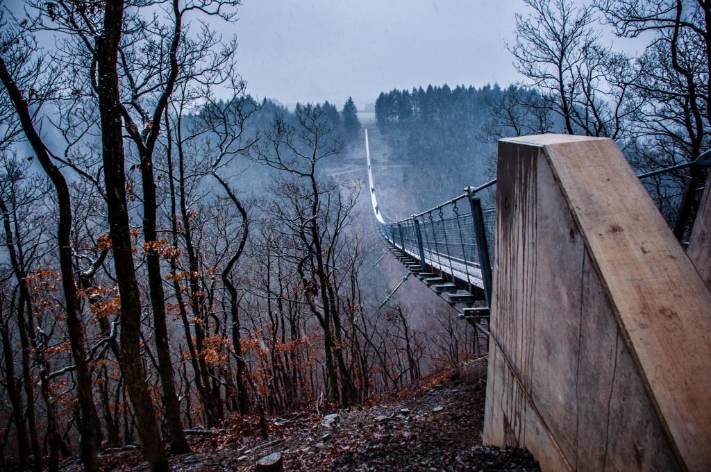 -0407 Gemma Geierlay Germany's Longest Suspension Bridge