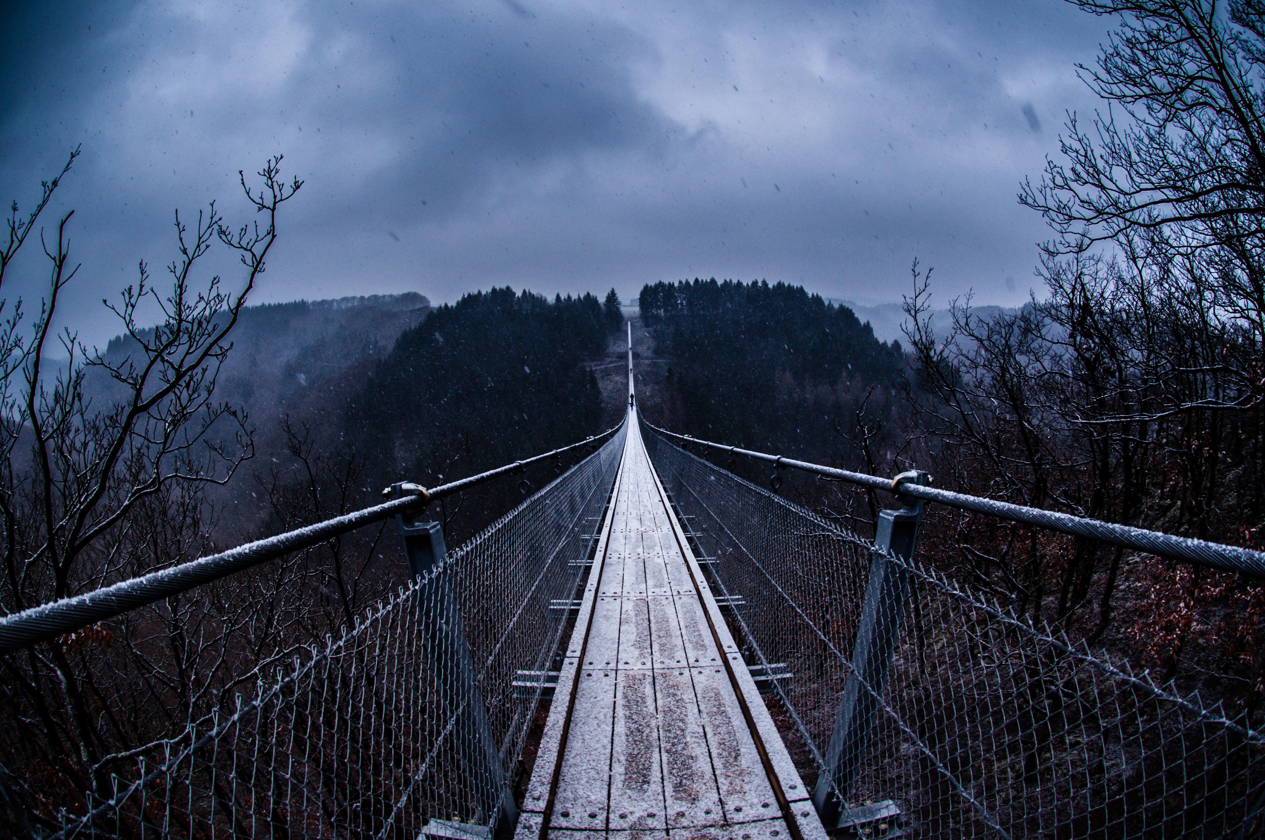 20 Gemma Geierlay Germany's Longest Suspension Bridge   Military ...