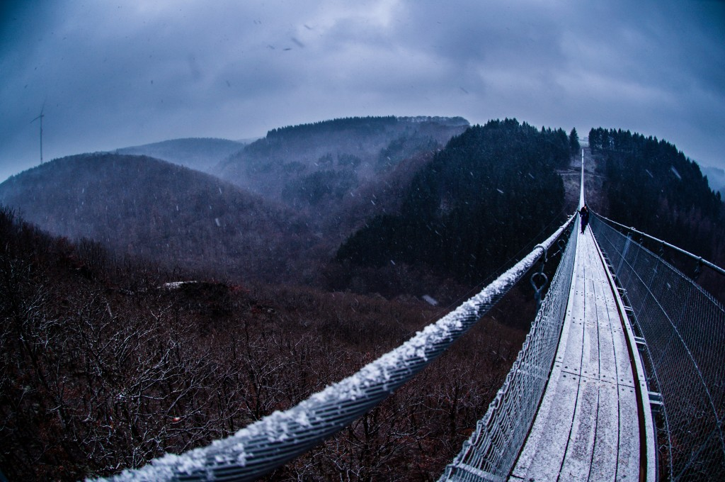 -0414 Gemma Geierlay Germany's Longest Suspension Bridge