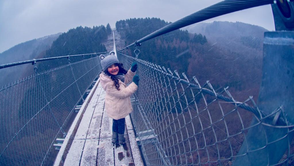-0420 Gemma Geierlay Germany's Longest Suspension Bridge