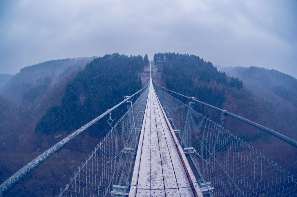 -0423 Gemma Geierlay Germany's Longest Suspension Bridge