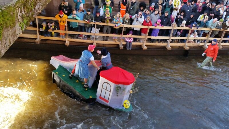 132324 on river Gemma Schramberg Fastnacht Boat Race and Parade