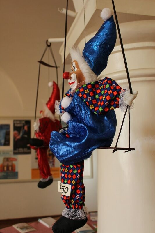 Clown Picture Wendy Fasching Museums!