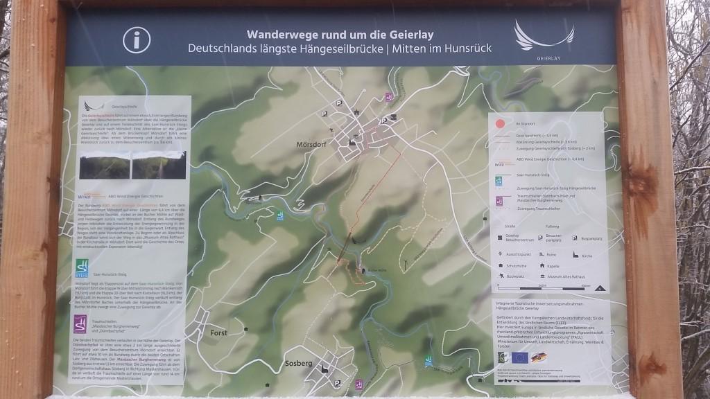 Hiking 1 Gemma Geierlay Germany's Longest Suspension Bridge