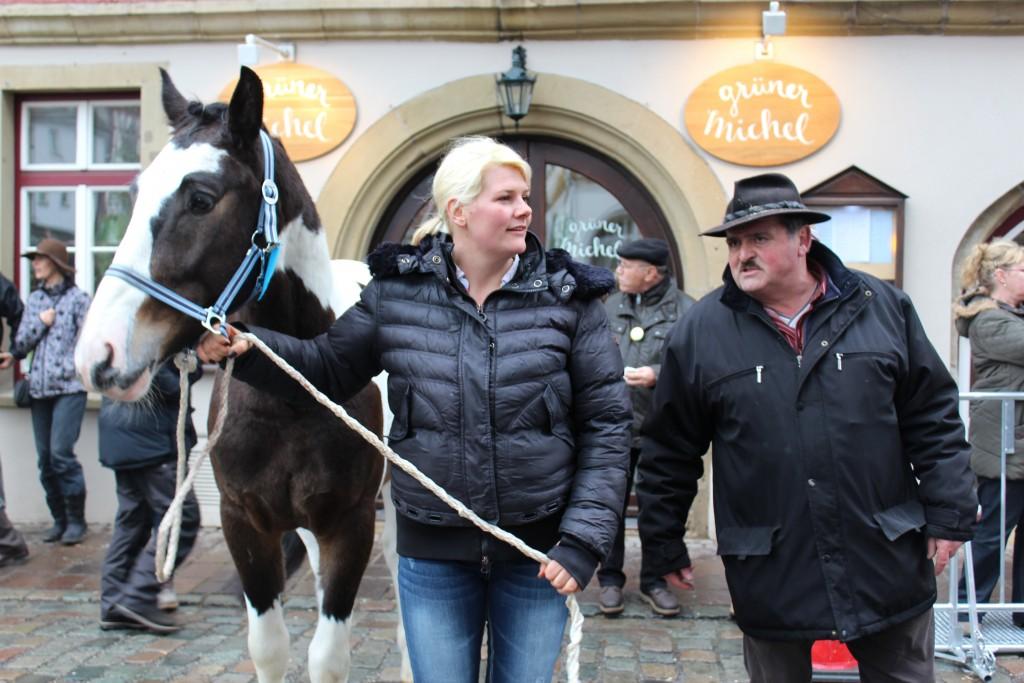 Horse trainers Wendy Leonberg Horse Market 16