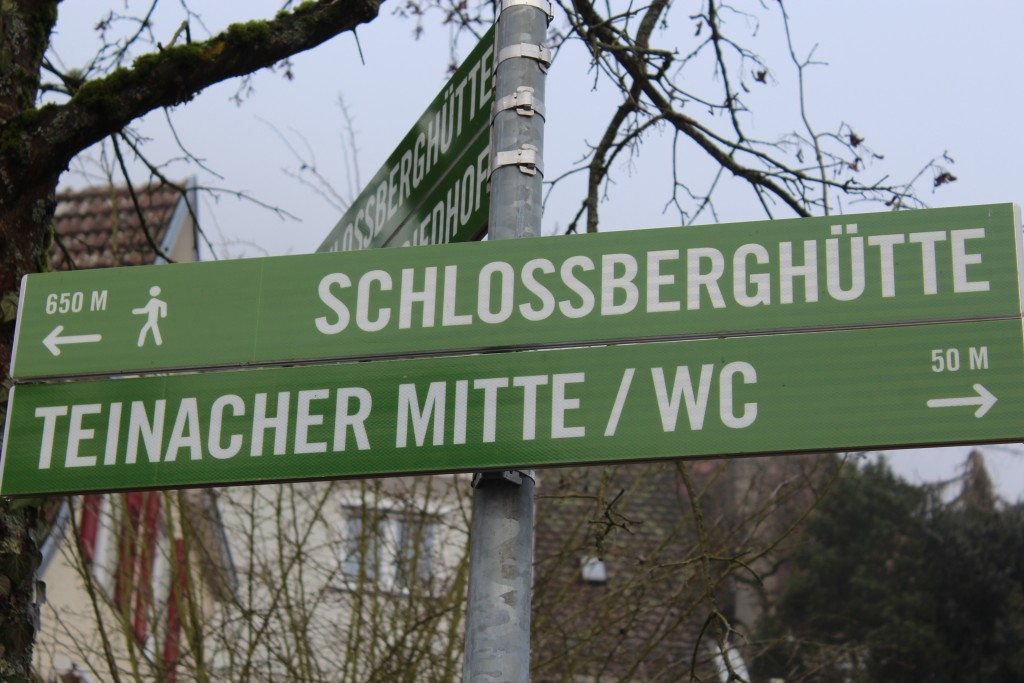 sign for schlossberghutte Wendy Twin Towns in the Black Forest 16