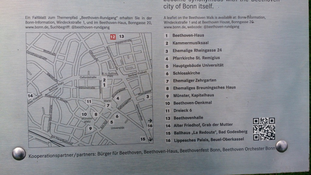 Beethoven Walk map Kelly Bonn Beethoven's Birthplace 16