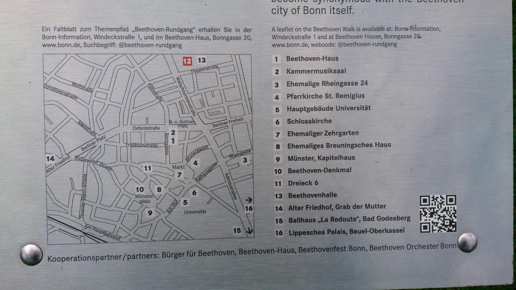 Beethoven Walk map Kelly Bonn Beethoven's Birthplace 16