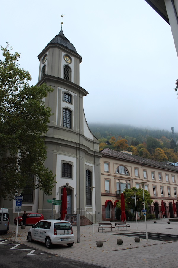 MIG- Bad Wildbad Evangelical Church Wendy Bad Wildbad, Baths and Blueberries 16