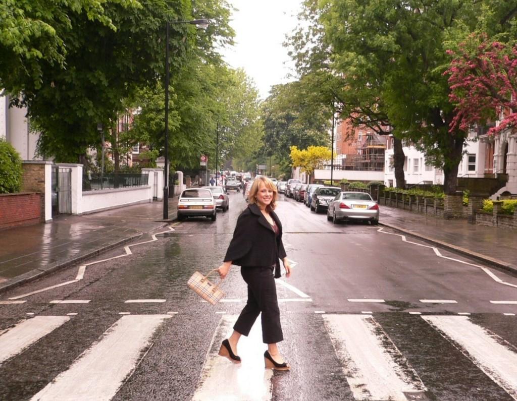 abbey road..thats me Gemma Lunch in London 16