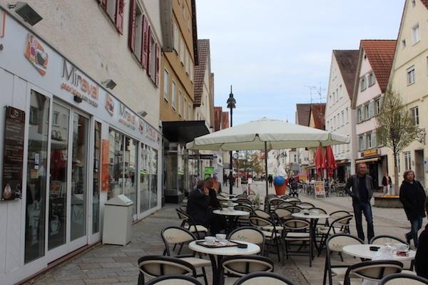 Ice cream & Gelato Wendy Beer Culture and the town of Ehingen June 16