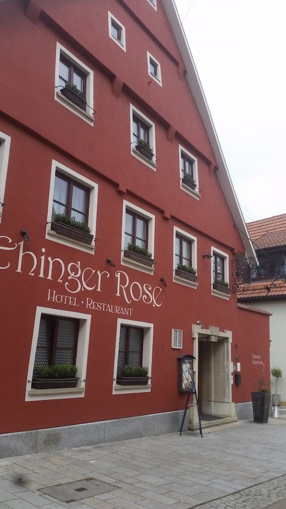 MIG - Ehinger Rose front Wendy Beer Culture and the town of Ehingen June 16