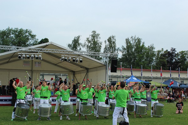 MIG Fun band at 4th of July Wendy Fireworks A BLAZIN' in Baden-Württemberg June 16