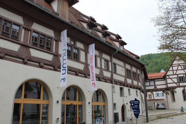 Tourism and Prehistory Wendy The Blue Waters of Blaubeuren June 16
