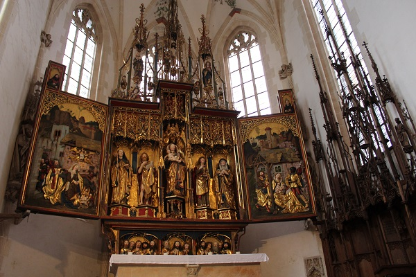 altar Wendy The Blue Waters of Blaubeuren June 16