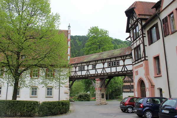 bathhouse bridge Wendy The Blue Waters of Blaubeuren June 16